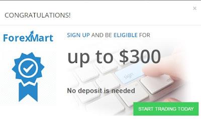 Bonus tanpa deposit forex 123