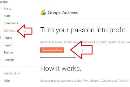Cara Mengaktifkan Google Adsense Di Blog Untuk Menampilkan Iklan