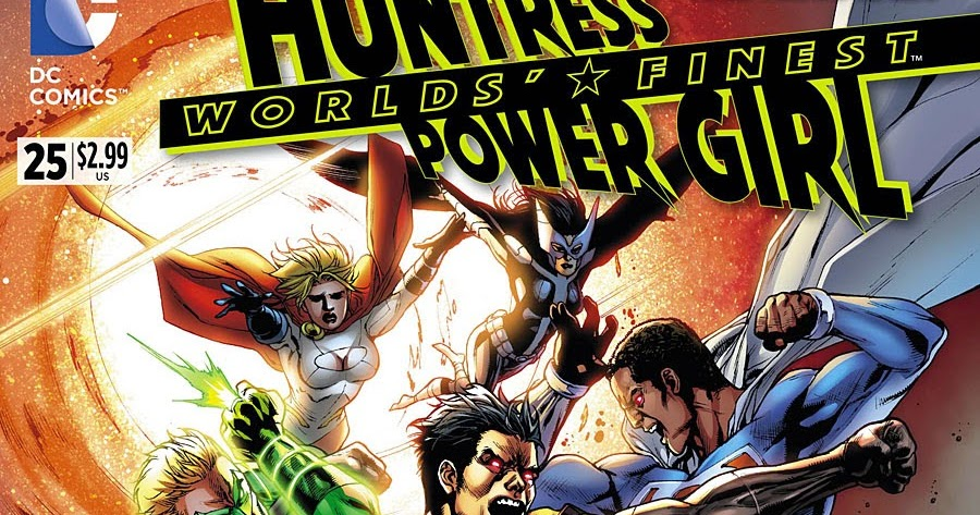 Supergirl Comic Box Commentary Review Worlds' Finest #25
