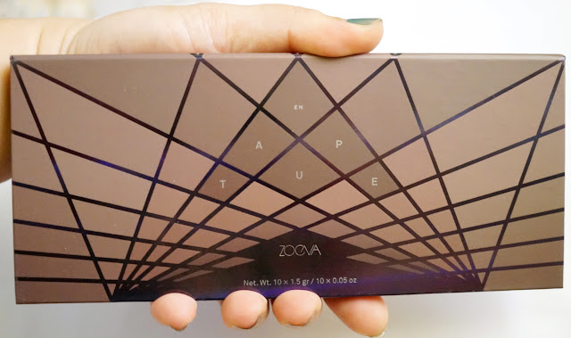 Sneak Peek: ZOEVA En Taupe Eyeshadow Palette