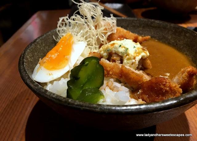 Atisuto chicken katsu curry