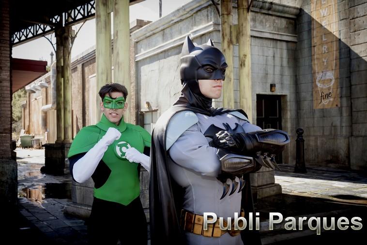Batman y Linterna Verde