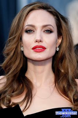 Angelina Jolie, American actress, was born on June 4, 1975 .
