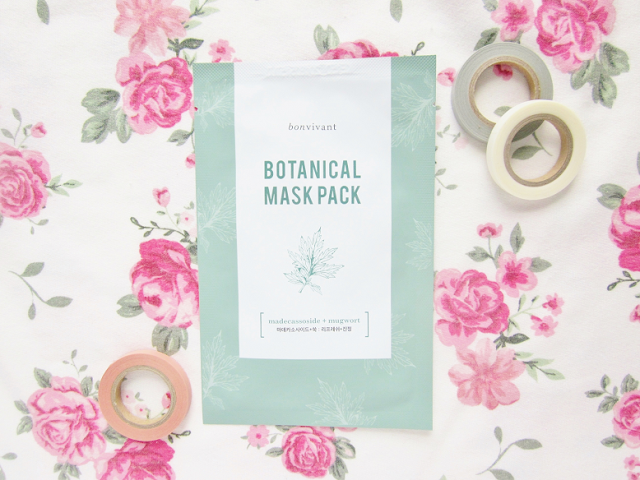 Bonvivant Botanical Pure Mask Packs Review