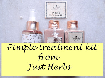 REVIEW: Just Herbs Neempure and Advanced Ayurvedic Pimple Treatment. image