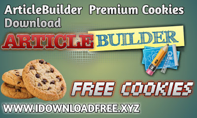 Article Builder Premium Cookies