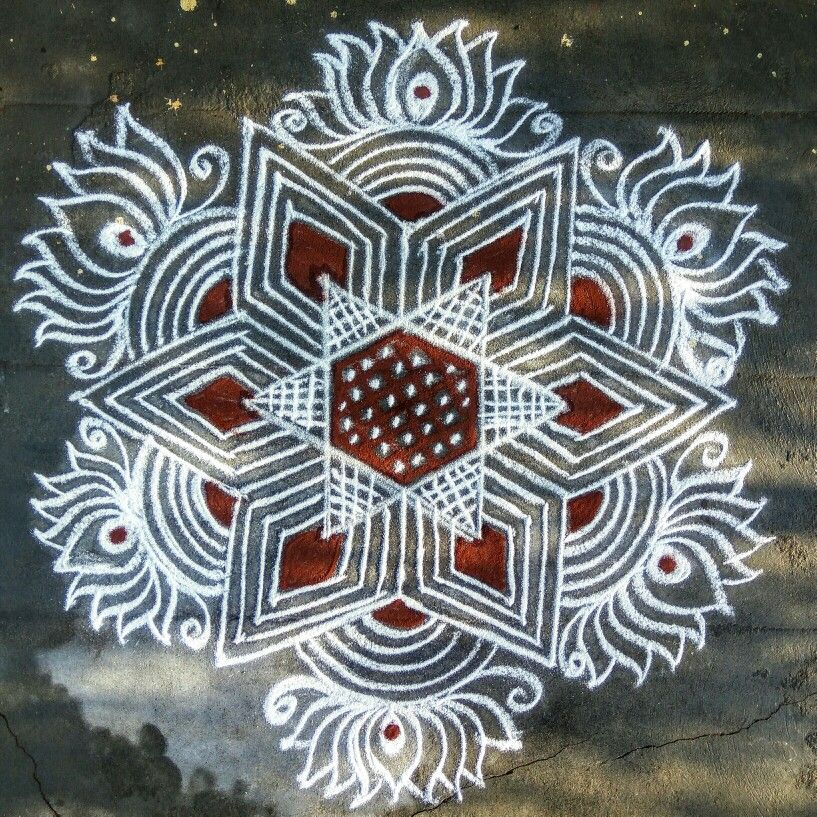 275 Simple Rangoli Designs For Diwali 2019 New Images With Easy
