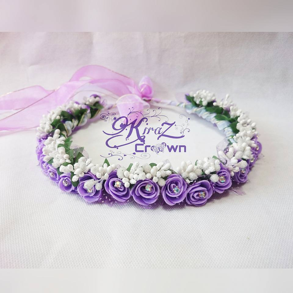 Jual flower crown mahkota bunga bridal shower wedding premium maaf harga tidak kami cantumkan di web karna bisa berubah sewaktu waktu silahkan hubungi kontak di atas atau cek di izmirmasajfo