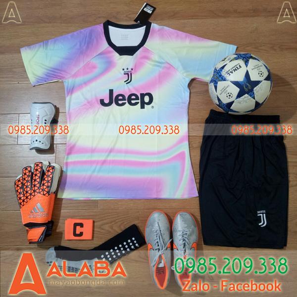 Áo CLB Juventus 2019 Màu Cầu Vồng