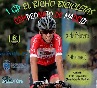 I GP El Bicho Bicicletas Campeonato Madrid