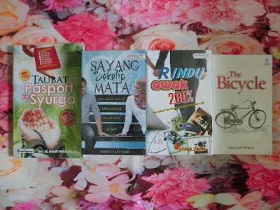 taubat passport ke syurga sayang sekelip mata rindu awak 200% the bicycle buku murah dari karangkraf mall