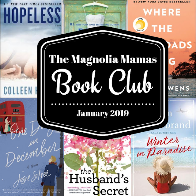 Book Club Selections and Reviews for January 2019