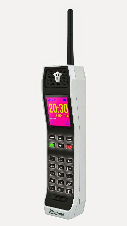'80s Actual: Binatone Modern day '80s Style Brick Phone WOW!