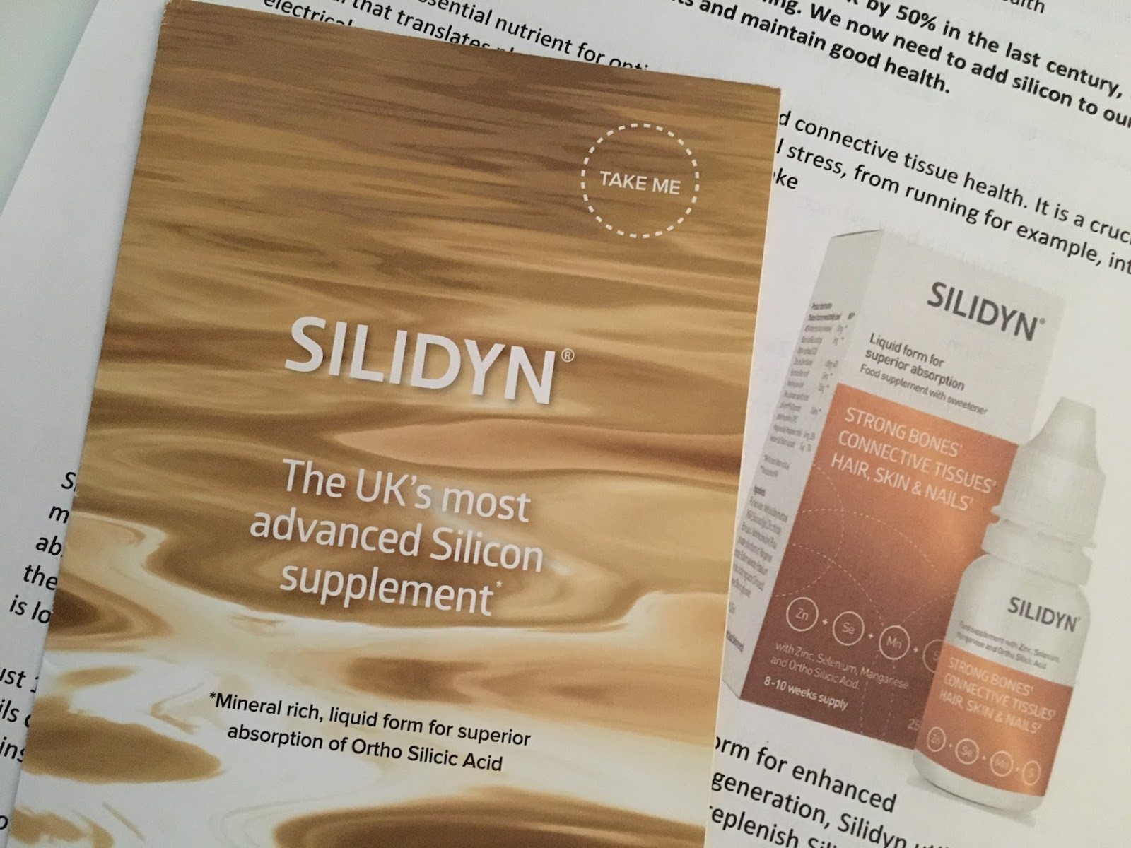 Silidyn review silicon supplement rio health lifestyle Priceless Life of Mine Over 40 lifestyle blog