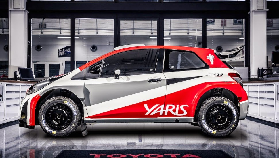 Toyota Yaris WRC Car