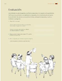 Apoyo Primaria Ciencias Naturales 4to Grado Bloque IV Evaluación