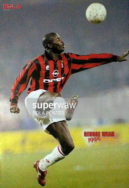 George Weah AC Milan 1995