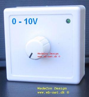Home automation 0-10V speed kontrol kundetilpasset elektronikudvikling