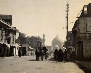 Calle de Bagdad, de la década de 1920-30