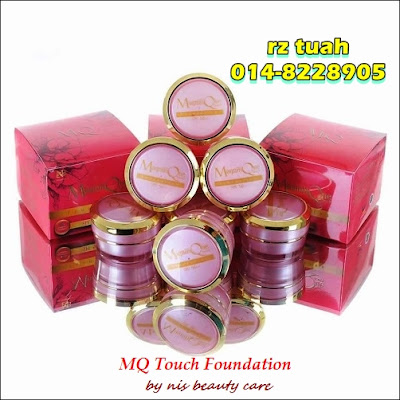 mq touch foundation nis beauty care
