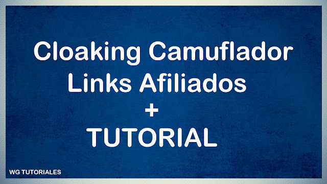 Cloaking Camuflador de links Afiliados