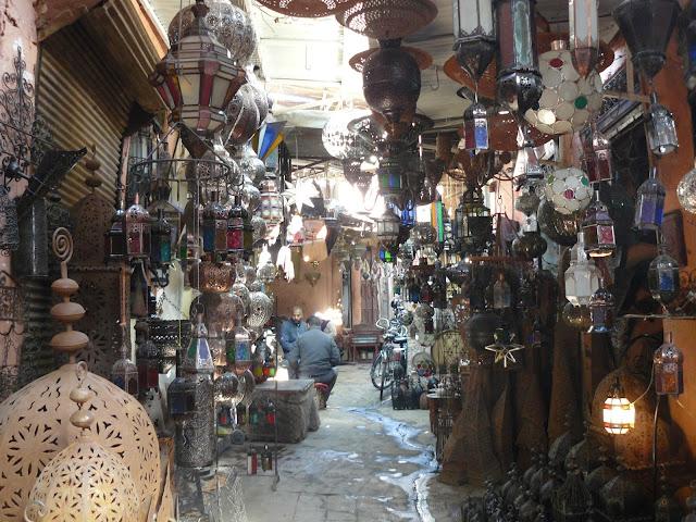 lamparas zoco marrakech
