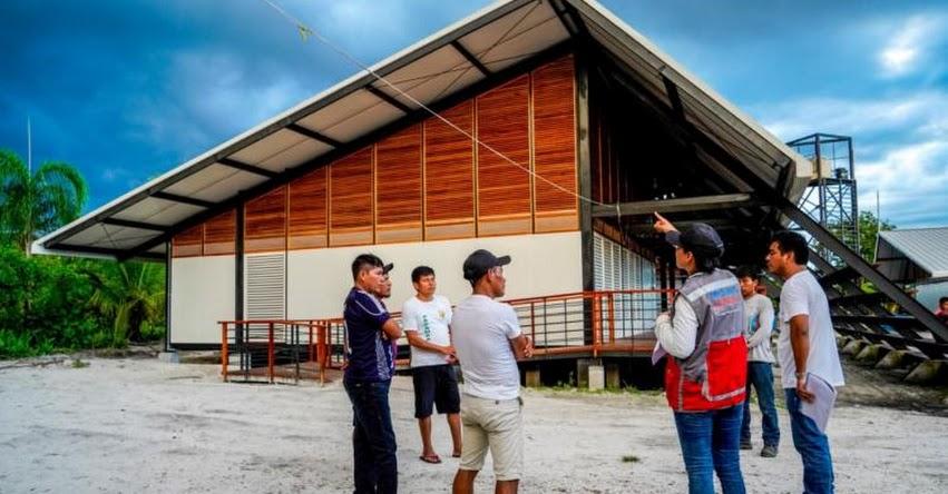 PRONIED: Módulos del Plan Selva son finalistas en Bienal Iberoamericana de Arquitectura - www.pronied.gob.pe