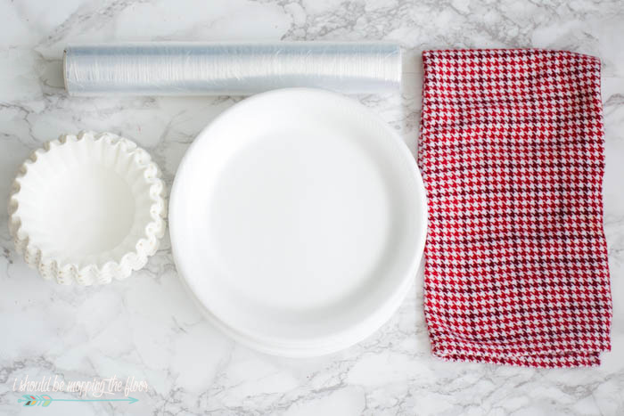 To store my holiday dinnerware I use styrofoam dinner plates large (basket-style) coffee filters and plastic wrap.  sc 1 st  I Should Be Mopping the Floor & i should be mopping the floor: How to Properly Store Holiday Dinnerware