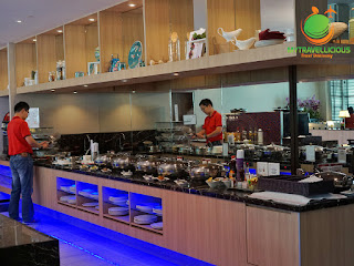 Review: SATS Premier Lounge at Changi Airport served Halal