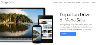 google Drive di PC dan Smarphone