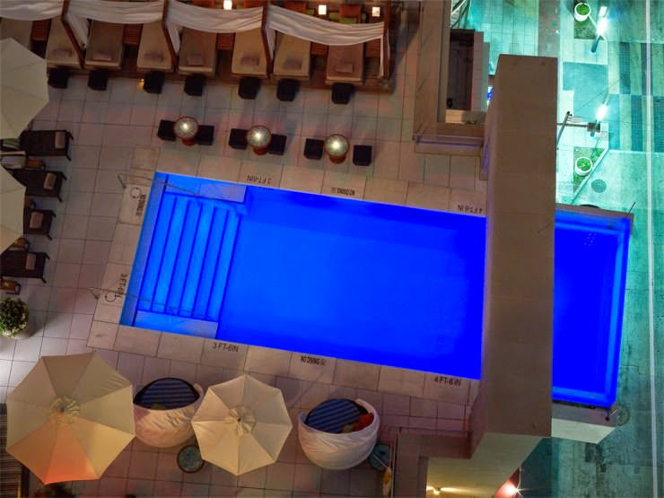 10. The Joule Hotel, Dallas, USA - Top 10 Marvelous Pools in the World