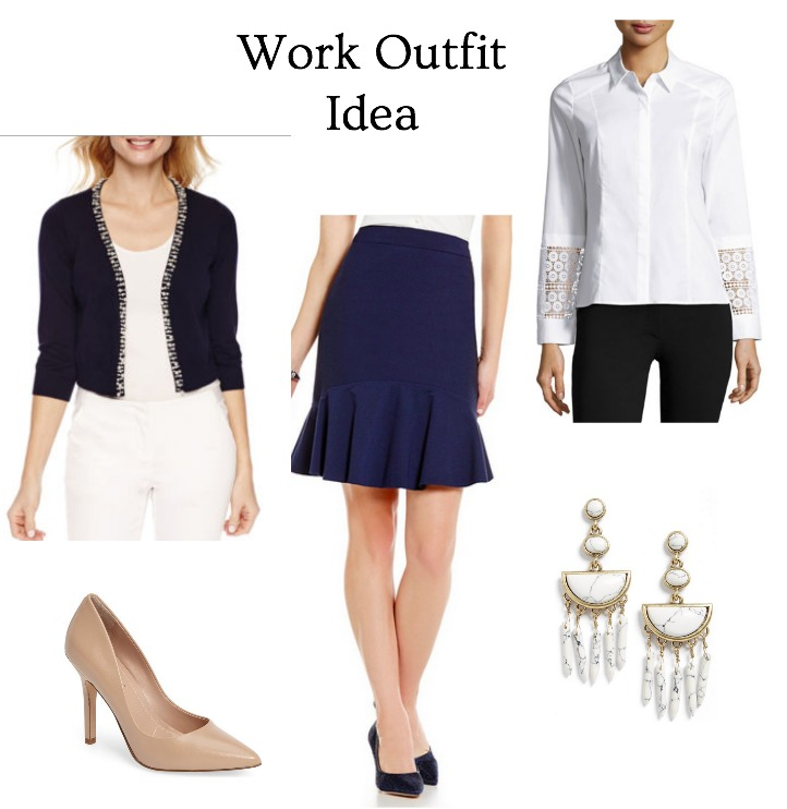 office appropriate spring trendy outfit