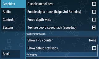 cara setting emulator PS2 / PSP 5