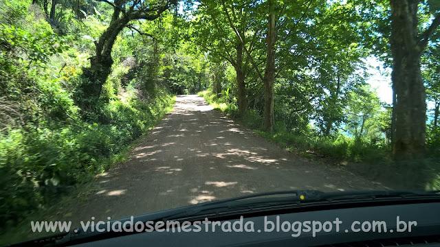 Estrada de acesso ao Morro da Embratel, Morro Reuter, Rota Romântica