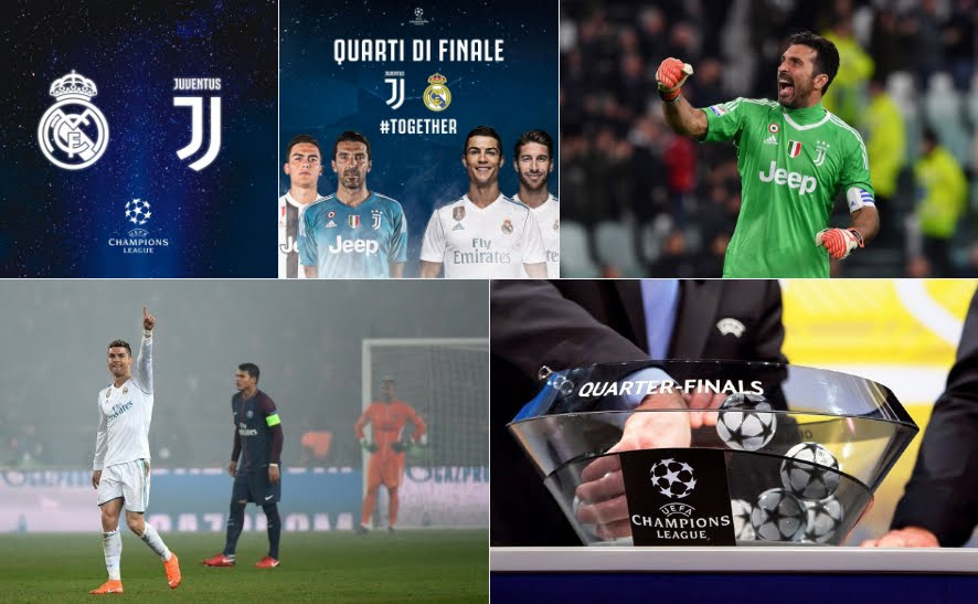 Champions League: si giocano Juventus-Real Madrid e Barcellona-Roma
