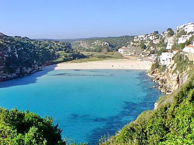 Cala en Porter em Menorca