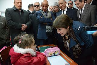 وزيرة التربية في زيارة عمل بولاية الجزائر العاصمة