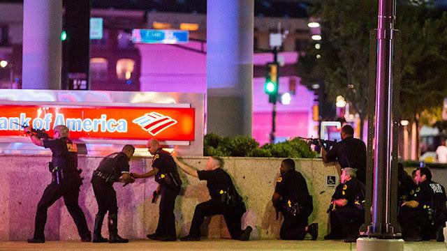 Uno de los francotiradores de Dallas confesó la razón del ataque antes de ser abatido