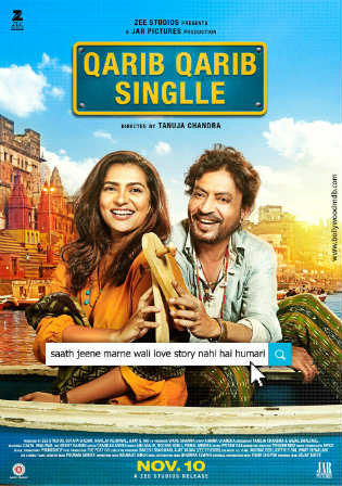 Qarib Qarib Singlle 2017 HDRip 350MB Full Hindi Movie Download 480p Watch Online Free bolly4u
