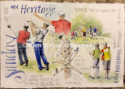 RBC Heritage, Harbour Town Golf Links, event illustration