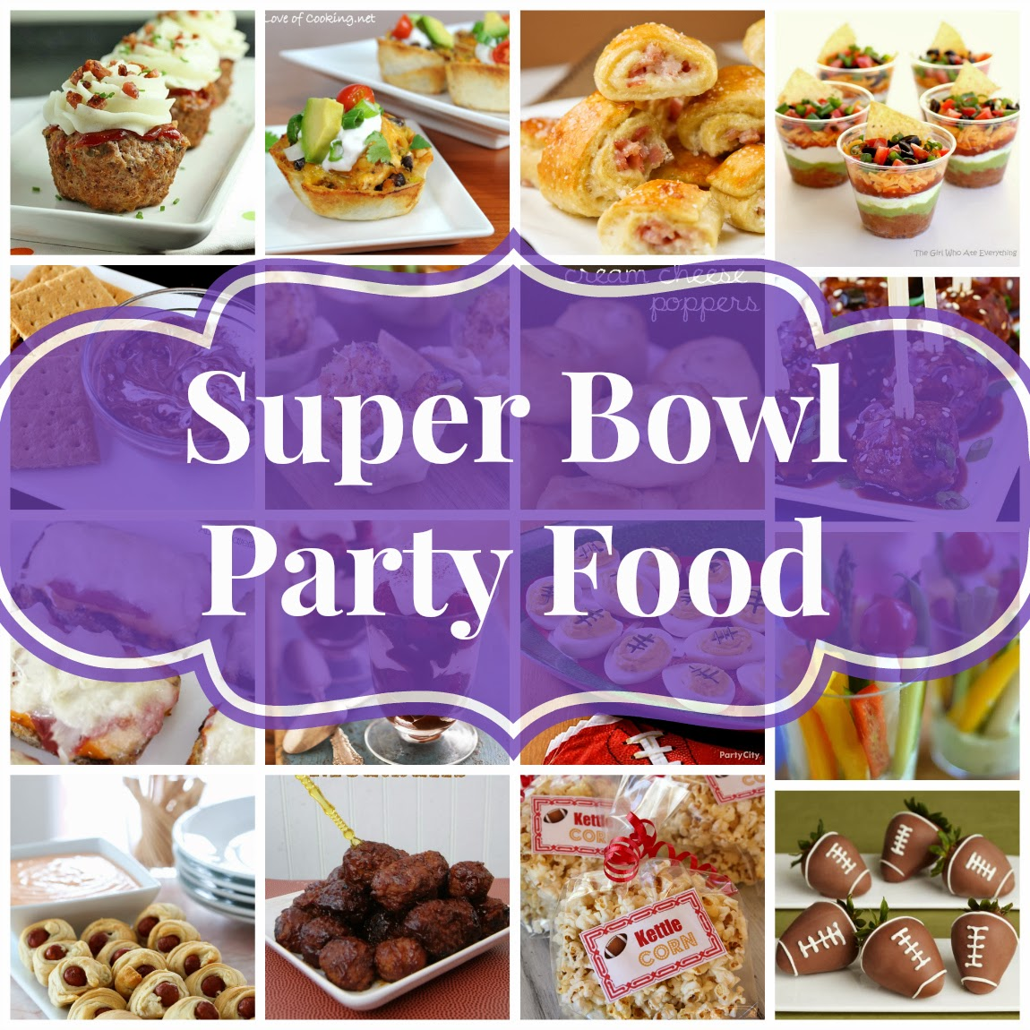 super bowl party food the end loft bowl food 31187