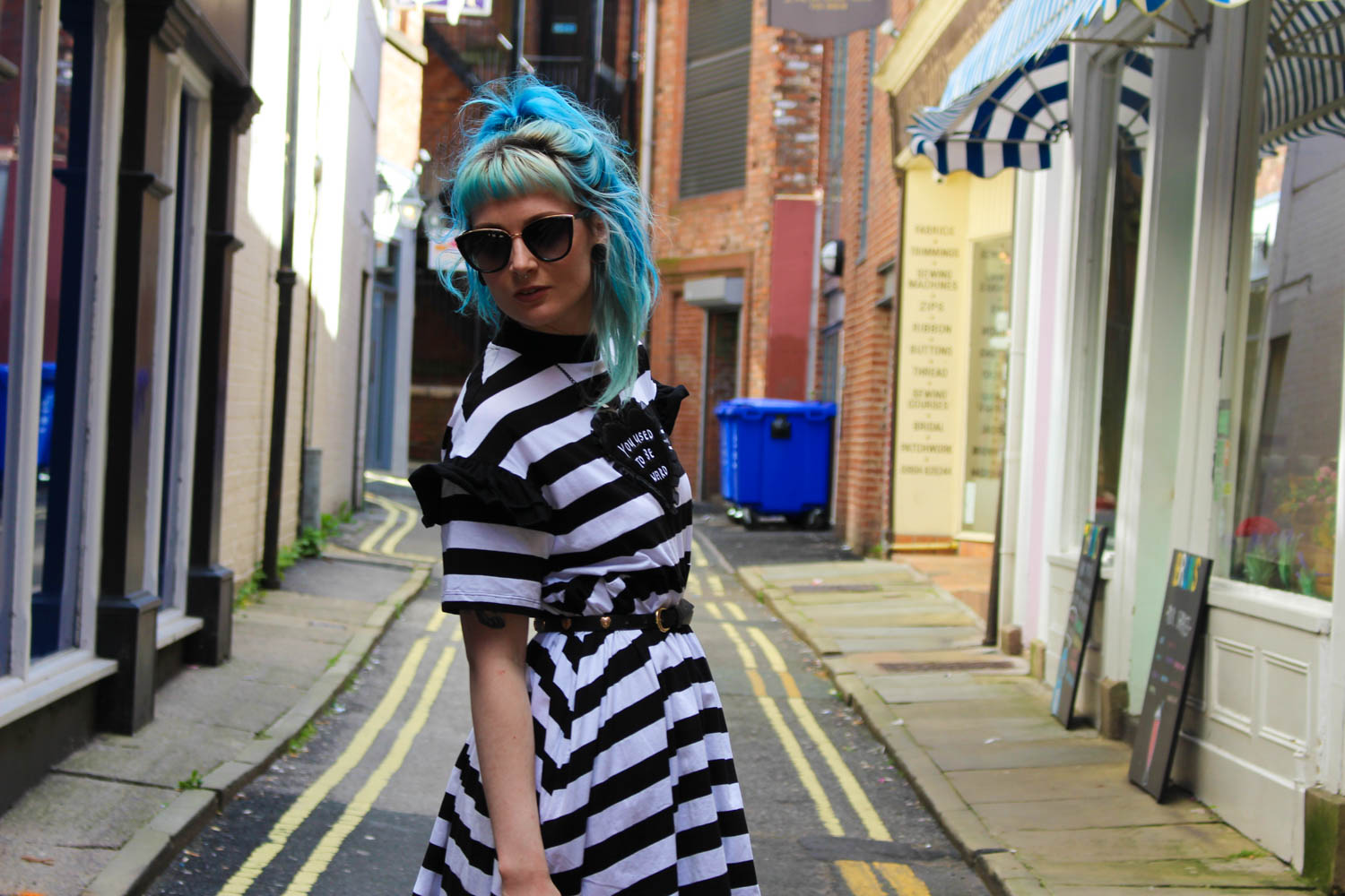 Alternative Style Blogger Foxxtailz Lazy Oaf