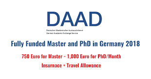 DAAD International Scholarships in Germany Related Postgraduate Courses 2018-19, Eligibility Criteria, Descriptions, Application deadline, field of study, advantage of the scholarship