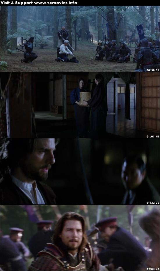 The Last Samurai 2003 Dual Audio Hindi 720p BluRay 1.2GB