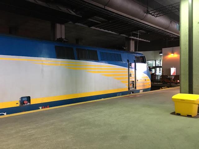 Via Rail Canada train