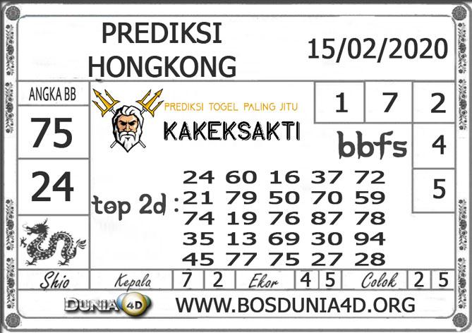 Prediksi Togel HONGKONG DUNIA4D 15 FEBRUARI 2020