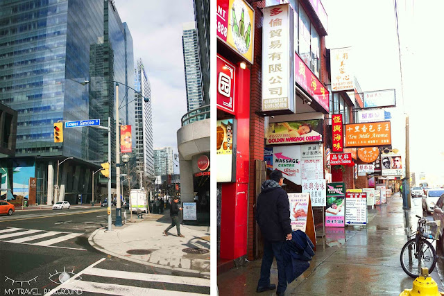 My Travel Background : 4 jours au Canada, Chinatown Toronto