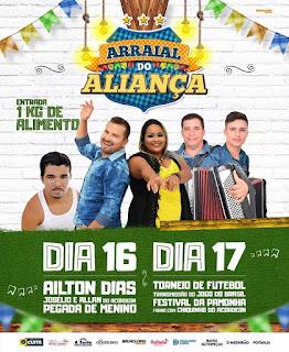 Em Cuité, o Arraial solidário do Aliança inicia as festividades juninas