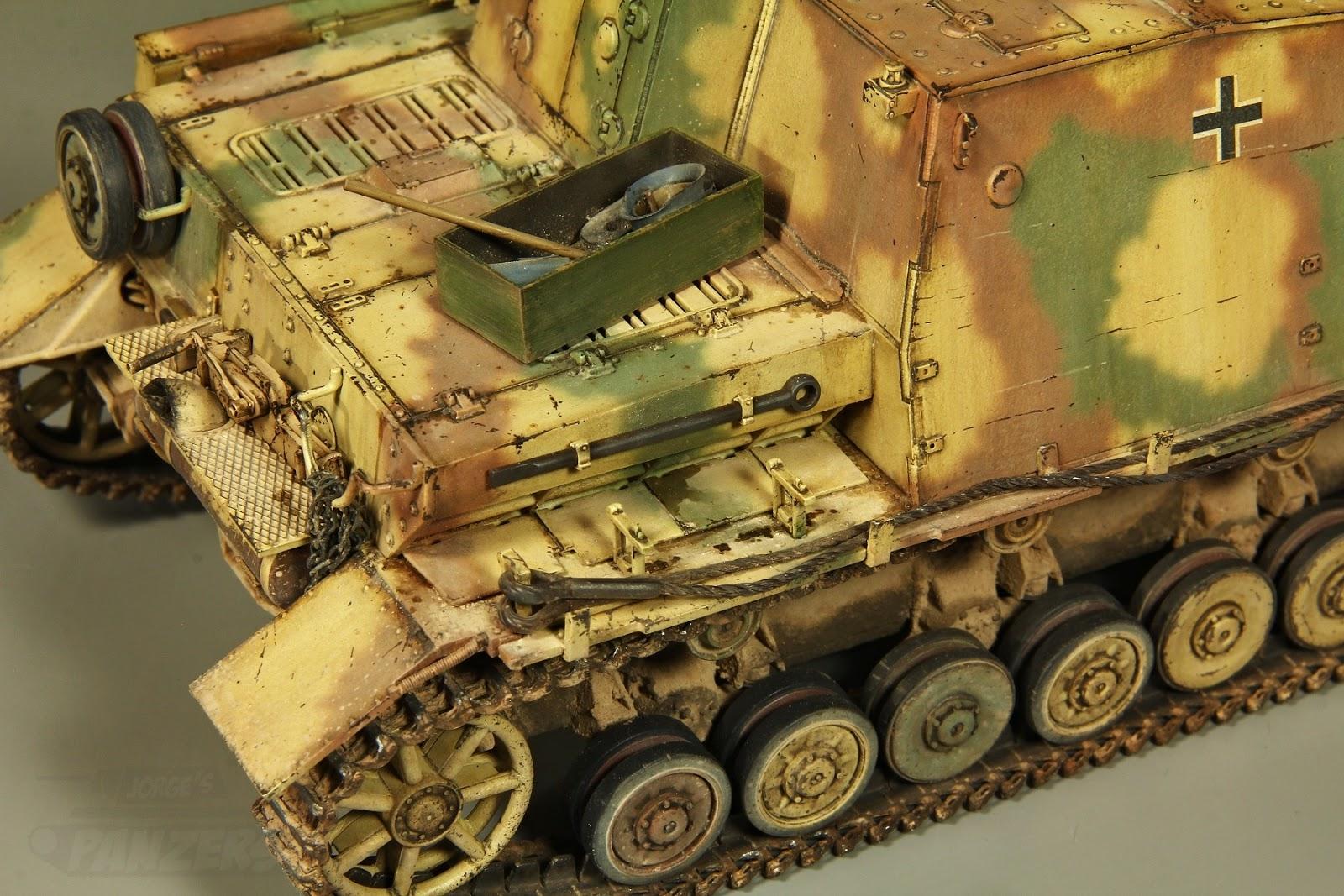 sturmpanzer Brummbär - Missing-Lynx