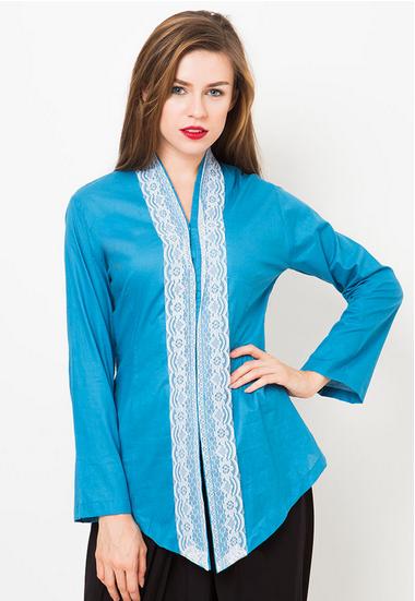 Model Baju Kebaya Brokat Modern Untuk Wisuda